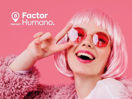 Diseño gráfico original del Congreso Factor Humano 2021